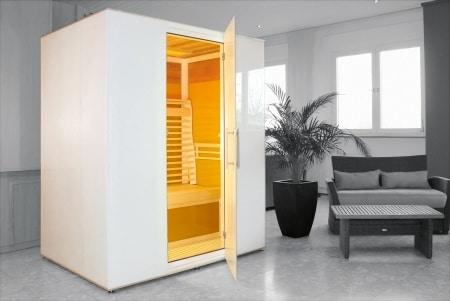 Edle Atmosphäre fürs Badezimmer - Wellness-Kabinen für ...