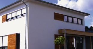 Prima Klima: Feine Luftkammern, die sich durch mineralische Zuschläge ergeben, sorgen in Leichtbeton-Häusern für Wohngesundheit und eine wirksame Wärmedämmung. Foto: djd/Bundesverband Leichtbeton