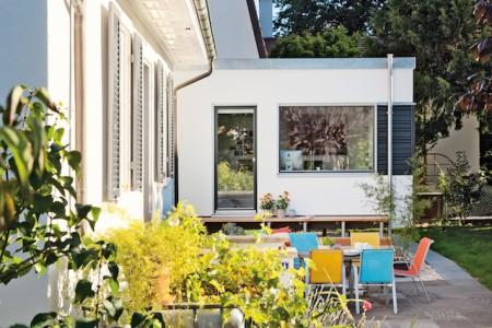 Wohnraumerweiterung Mit Einem Minihaus