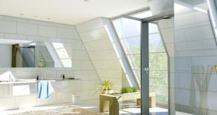 Wellnessoase statt Nasszelle: Die Flächenheizung ist nach der Renovierung unsichtbar in den Wänden verborgen. Foto: djd/Uponor GmbH