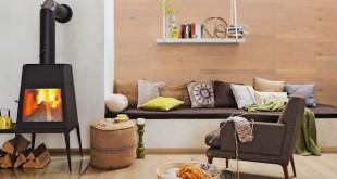 Hochwertige Parkettdielen machen sich nicht nur auf dem Boden gut, sondern schaffen auch an Wand und Decke ein einmalig schönes Raumerlebnis. (Foto: epr/HolzLand, MEISTER)