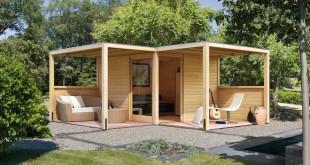 Geräteschuppen oder Gartenvilla - Was ist beim Bau zu beachten? Bild: tdx/i&M Bauzentrum