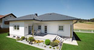 Robust, langlebig, wartungsfrei: Ein Aluminiumdach ist eine Investition für das Leben, denn es hält selbst stärksten Stürmen und Regengüssen stand. (Foto: epr/PREFA)