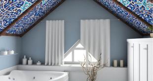 Egal welche architektonischen Besonderheiten ein Raum aufweist: Spanndecken können überall passgenau eingearbeitet werden. Bild: tdx/BSP/Shutterstock