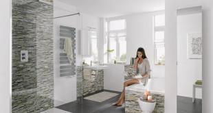 Die Sanierung mit RenoDeco lohnt sich: In diesem Bad kann man sich nur wohlfühlen! (Foto: epr/ HSK Duschkabinenbau KG)
