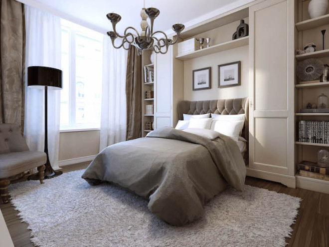 Boxspringbetten erreichen durch aufeinander liegende Matratzen ihre charakteristische Liegehöhe. Zudem kann das Bett so ideal auf den Körper abgestimmt und höchster Schlafkomfort genossen werden. Bild: tdx/Fotolia