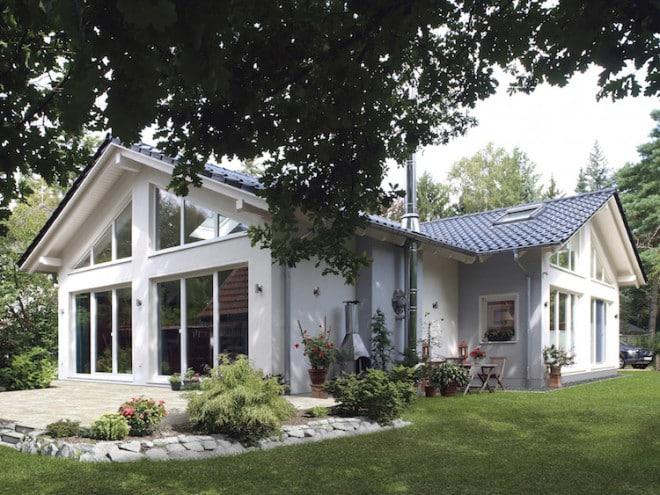 Foto: Schwabenhäuser erfüllen die strengen Förderrichtlinien der KfW und sind mindestens als Effizienzhaus 55 klassifiziert.