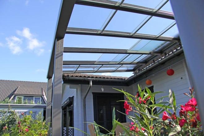 Terrassen Kann Man Mit Einem Soliden Glasschiebedach Komfortabel