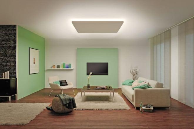 Die LED-Streifen lassen sich fast überall platzieren, verbrauchen nur wenig Energie und sorgen aufgrund ihrer hohen Lebensdauer über viele Jahre für angenehmes, indirektes Licht. Foto: djd/Paulmann Licht