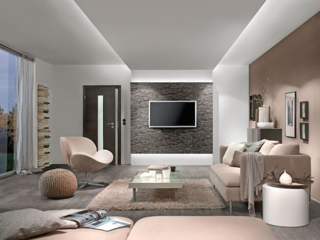 Mit versteckten Lichtquellen wie LED-Stripes und passenden Profilen erhält jeder Raum eine persönliche Note. Foto: djd/Paulmann Licht