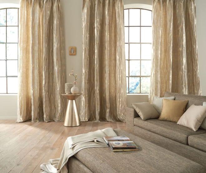 Durch neue Stoffe kann man die Sonne direkt in die eigenen vier Wände holen. Entwurf: Saum & Viebahn. Foto: djd/www.gib-dir-stoff.com