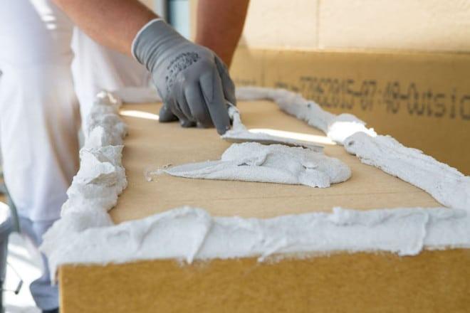 Die Schwenk Putztechnik ist starker Partner für das Holzbauhandwerk. Foto: Schwenk Putztechnik
