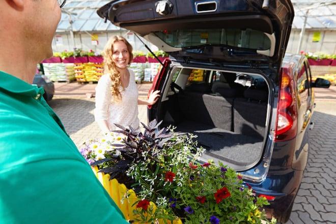 Einfacher geht es nicht: Viele Gärtnereien bepflanzen professionell Kästen und Kübel nach individuellen Kundenwünschen. Bild: tdx/GMH/BVE