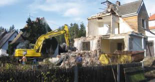 Kurz und schmerzlos: Ein Abriss der Immobilie kann Modernisierungskosten sparen Bild: tdx/fußner | kühne Architekten/BHW Bausparkasse