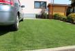 Ein freundliches Grün ersetzt den grauen Beton: Mit Rasengittern lassen sich Einfahrten und Stellplätze umweltfreundlich gestalten. Foto: djd/Gutta Werke