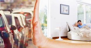Der Lärm bleibt draußen! Schallschutzfenster können gesundheitlichen Belastungen vorbeugen. (Foto: epr/Weru)