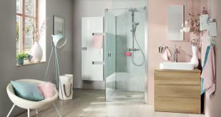 Auch z. B. mit dem Kermi Duschplatz POINT E65 ist ein leises Duscherlebnis garantiert. Mittels einer Tabelle wird ermittelt, welche Schallschutzmatte für welche Duschsituation benötigt wird. Foto: Kermi GmbH/akz-o
