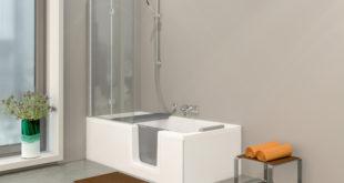 Schaumbad oder Erfrischungsdusche? Mit der DUO Badewanne von GKI lässt sich zu jeder Zeit exakt die wohltuende Körperpflege genießen, die man sich wünscht. (Foto: epr/GKI)