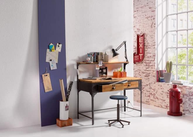 Dauerbrenner Raufaser: Der moderne Klassiker ist mehrfach überstreichbar – bei Bedarf können wir den Look unserer Räume also ohne Mühe verändern. (Foto: epr/Erfurt)
