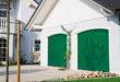 """Mut zur Farbe: Das Normstahl Superior 42 Modell """"Style"""" ist in frischem Moosgrün der Hingucker am Haus. (Foto: epr/Normstahl)"""