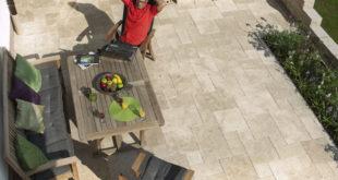 Nachhaltige Terrassengestaltung mit Naturstein Bildquelle: obs/jonastone GmbH und Co. KG