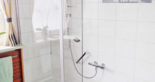 Der Umbau der Badewanne zur Dusche erfolgt an circa einem Tag. Bereits am nächsten Tag kann die neue Duschoase eingeweiht werden. (Foto: epr/Tecnobad)