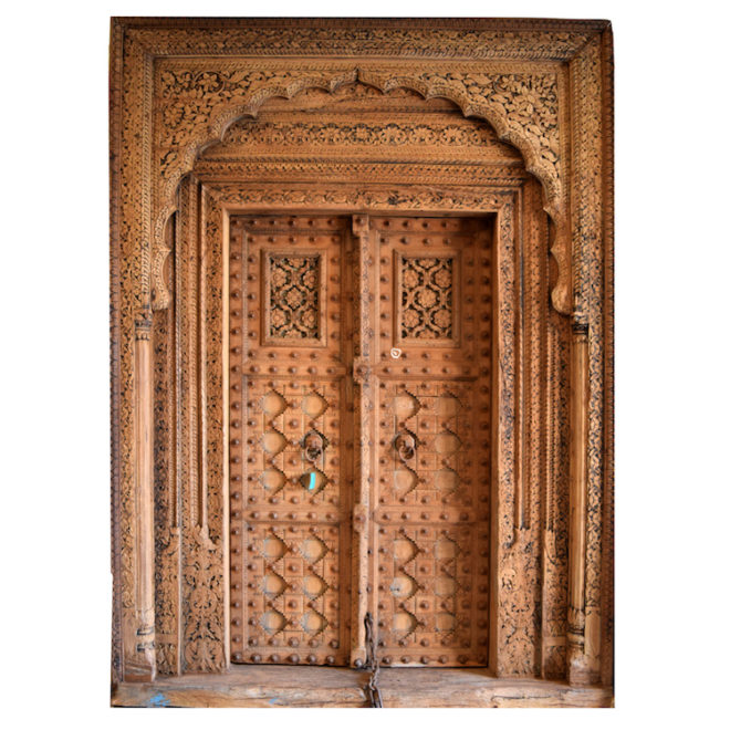 Antikes Eingangsportal aus Indien Foto: Guru-shop GmbH