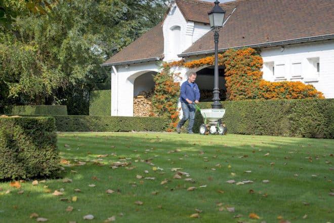 Neue Rasenflächen anlegen oder Lücken im Grün mit einer Nachsaat schließen: Der Herbst ist dafür die beste Gelegenheit. Foto: djd/DCM - Deutsche CUXIN Marketing GmbH