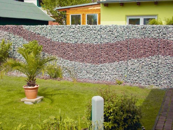 Gabionenzäune schaffen Privatsphäre und setzen tolle Akzente im Garten