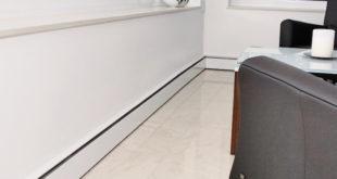 n Räumen mit wenig Platz ist die Sockelheizleiste die perfekte Heizkörper-Alternative. (Foto: epr/bad & heizung/IVT)