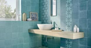 Inspiriert durch die keramische Tradition erleben Zementfliesen von Cas Cerámica in sanften Tönen im Bad aktuell ihre Renaissance. (Foto: epr/Tile of Spain)