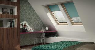 Die Stimmung im Winter gleich doppelt aufheitern: Mit farbenfrohen Sonnenschutz-Produkten die Wärmedämmung am Dachfenster verbessern und Gute-Laune-Akzente setzten. Foto: Velux Deutschland GmbH/akz-o
