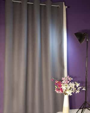 """Filzvorhang: Thermovorhang & Akustikvorhang aus 100% Merino-Schurwolle. Filzvorhänge von monofaktur sind gesund, energiesparend, schalldämmend, nachhaltig, recyclebar und werden """"fair"""" hergestellt und verarbeitet. Foto: monofaktur.de"""