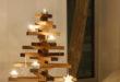 Eine tolle Alternative zum Weihnachtsbaum. Diese Weihnachtsbäume sind auch aus natürlichem Holz, aber ganz ohne Nadeln. Und keine Sorge, Sie werden es hier nicht mit einem herkömmlichen und langweiligen Kunst-Weihnachtsbaum zu tun bekommen. Foto: holzdesignpur.de
