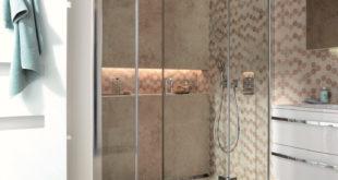 Schön und praktisch: Pendelbare Duschabtrennungen wie bei Premium Softcube von HSK schaffen Platz im Bad, sind ein echter Hingucker und lassen sich einfach reinigen. Foto: HSK Duschkabinenbau KG/akz-o