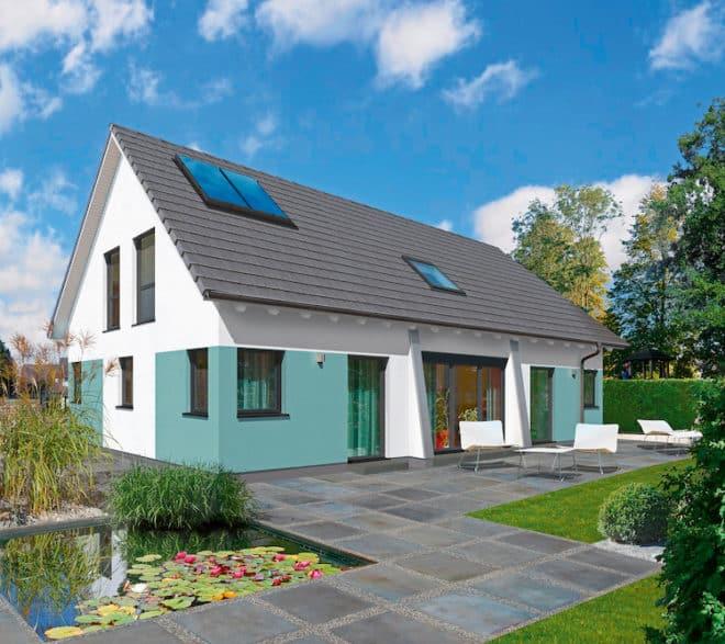 Nicht nur die äußerliche Gestaltung des Hauses bleibt den Bauherren überlassen. Auf Wunsch können sie auch den gesamten Innenausbau selbst übernehmen. (Foto: epr/allkauf haus)