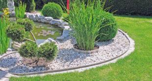 Stilvolle Akzente im persönlichen Traumgarten: Mit dem Einfassungssystem Gartenprofil PRO wird jeder Gartenbesitzer zu seinem eigenen Landschaftsarchitekten. (Foto: epr/terra-S)