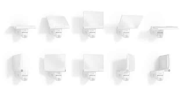 Durch die volle Schwenkbarkeit des LED-Panels lässt sich jeder Winkel perfekt ausleuchten. - Quelle: Steinel Vertrieb GmbH