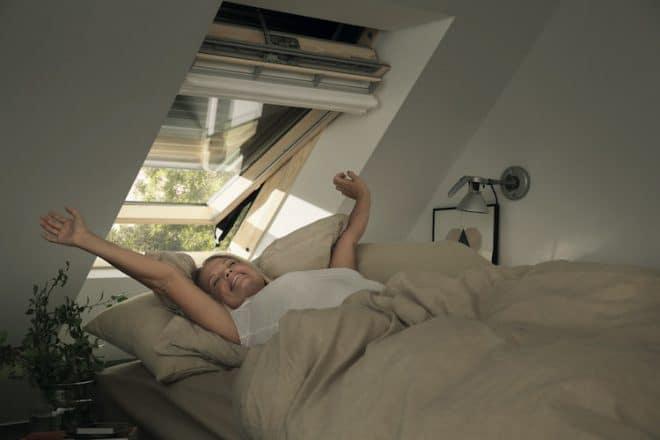 Ein effektiver Hitzeschutz schützt die Dachgeschosswohnung