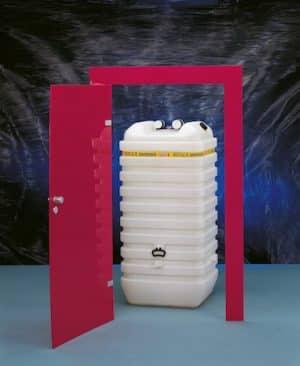 Heizöltanks sollten sicher und Hochwasser geeignet sein.