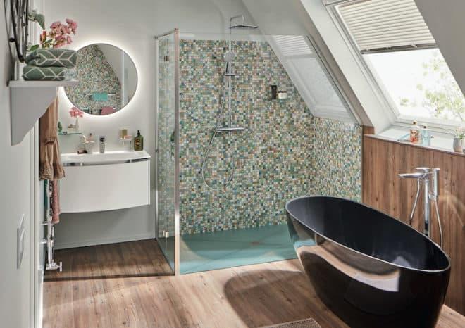 Eine Wohlfuhloase Trotz Platzmangel Im Badezimmer