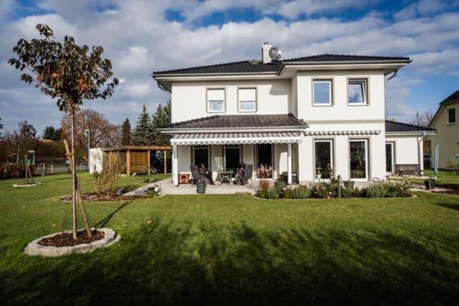 Das auf Erbbaurecht errichtete Haus ist Eigentum des Bauherrn.