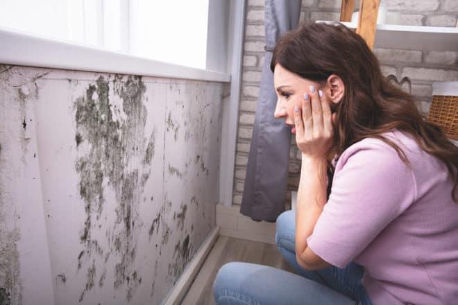 Schimmelpilz in der Wohnung kann gesundheitliche Schäden verursachen.