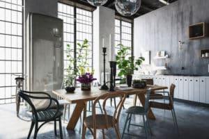 Die Wohnungseinrichtung im Industrial-Style ist äußerst gefragt.