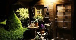Ein Gartenhaus kann vielseitig benutzt werden.