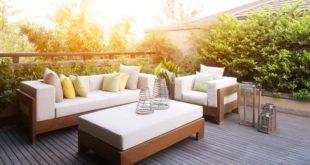 Wenn die Gartensaison anfängt, kommen auch die Gartenmöbel wieder zum Vorschein.
