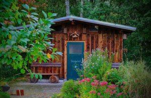Ein Gartenhaus ist vielseitig nutzbar.
